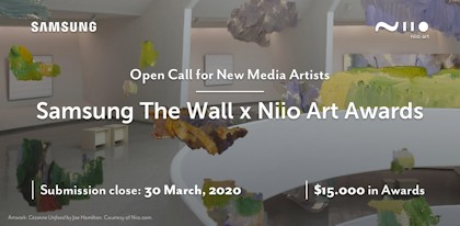 Samsung The Wall x Niio Art Award