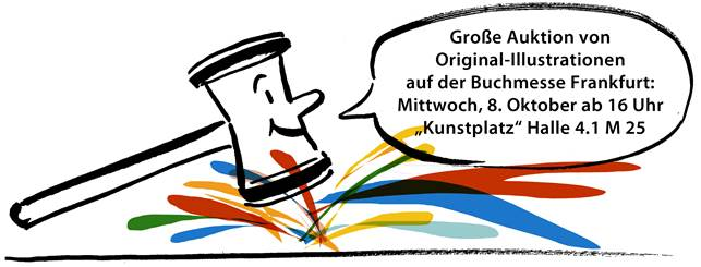 Auktion Original-Illustrationen
